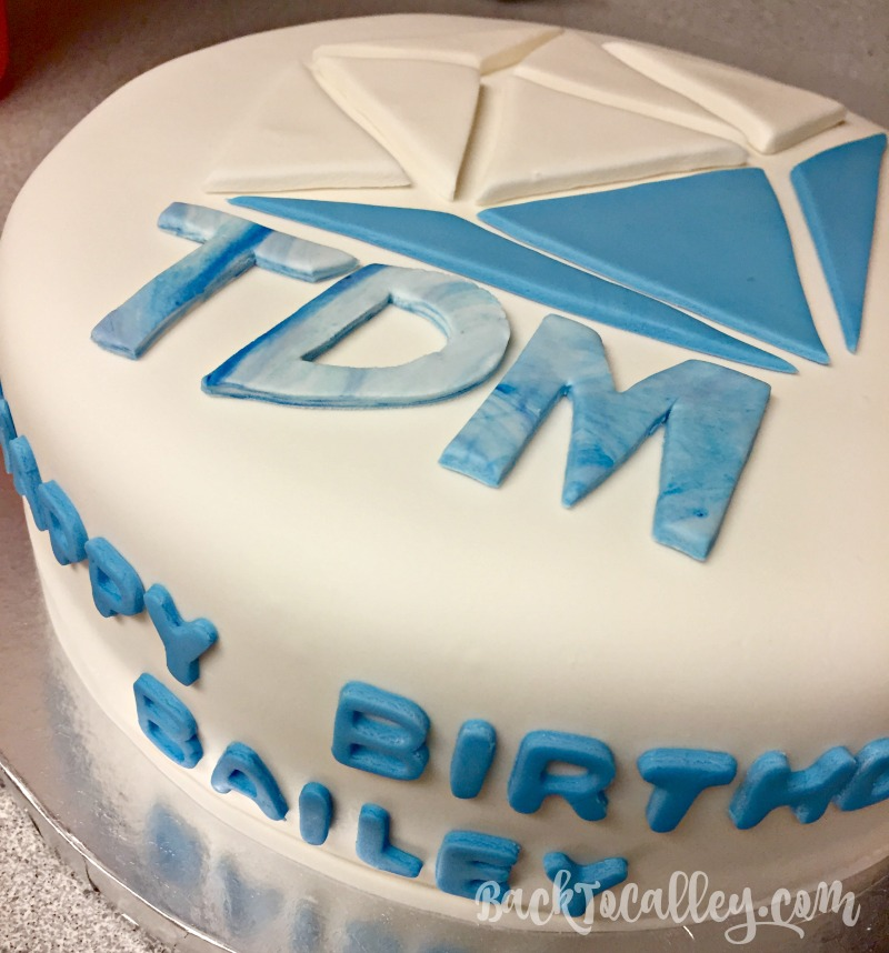 DanTDM YouTube Birthday Cake