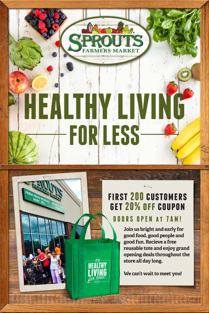 Healthy Living for Less with Sprouts in Carrollwood / Tampa, Florida