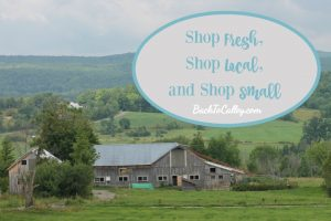 Shop Fresh, Shop Local, and Shop Small