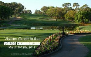 Visitors Guide to the Valspar Championship 2017