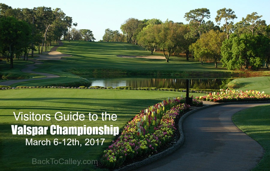 Visitors Guide to the Valspar Championship 2017 #valsparchampionship