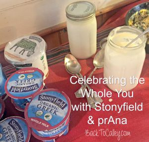 Celebrate the Whole You with Stonyfield & prAna