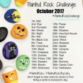 Painted Rock Challenge October 2017 #PaintedRockChallenge