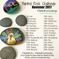 Painted Rock Challenge November 2017 #PaintedRockChallenge