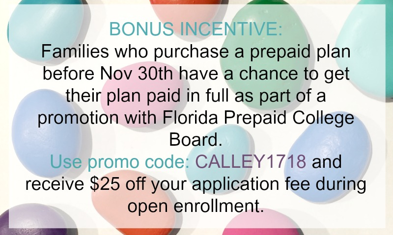 Florida Prepaid Incentive PROMO CODE Calley1718