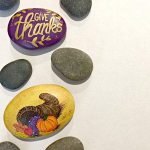 Painted Rock Thanksgiving Mini-Challenge Ideas