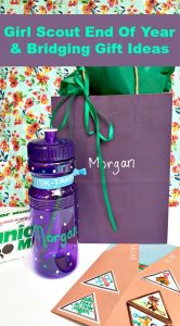 Ideas for End of Year & Girl Scout Bridging Ceremony Gifts