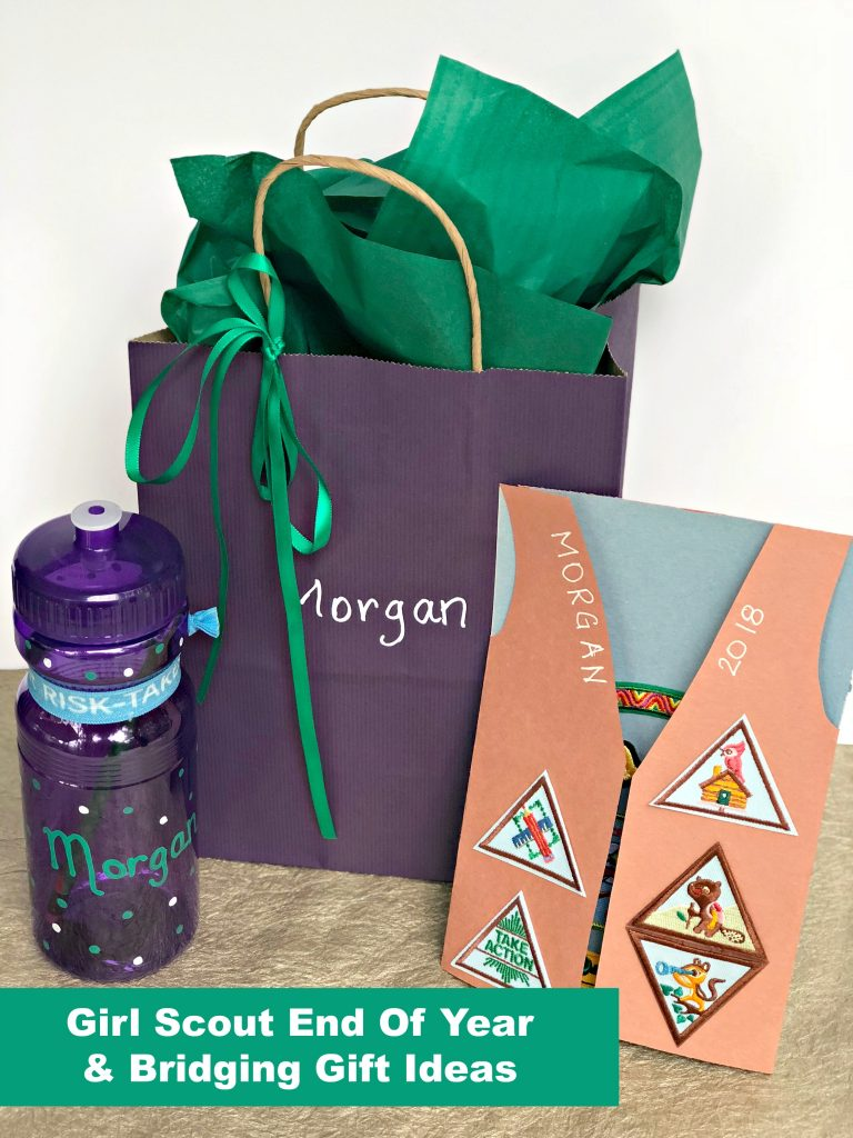 ideas for end of year & girl scout bridging ceremony gifts — a tampa