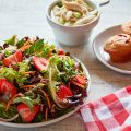 Sweet Tomato Strawberry Fields Salad Recipe