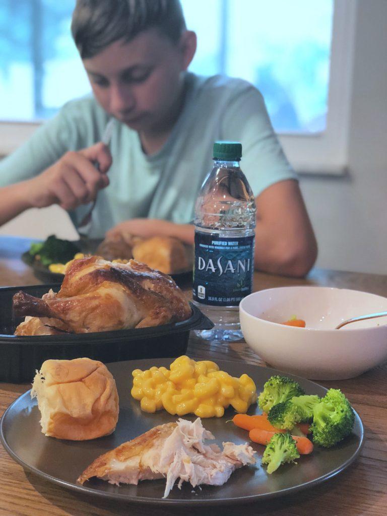 Family Dinnertime during School