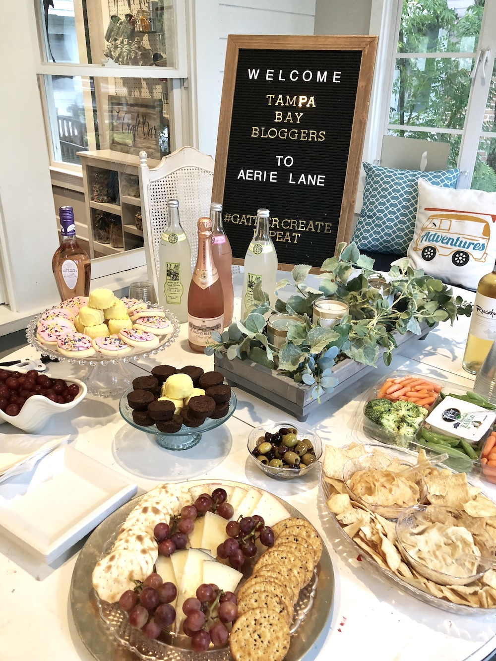 Aerie Lane for Private Events