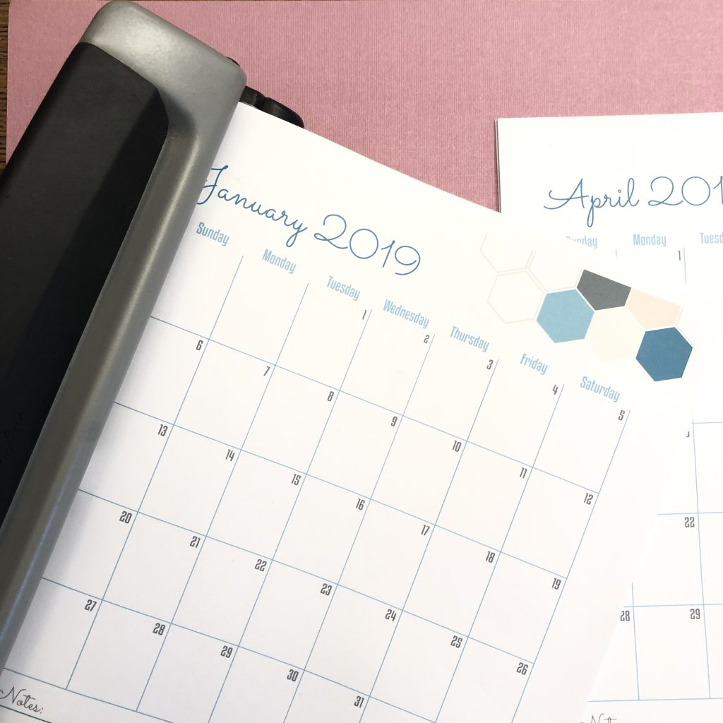 3-Ring Binder Planner Method