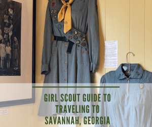 Traveling to Savannah, GA with Girl Scouts
