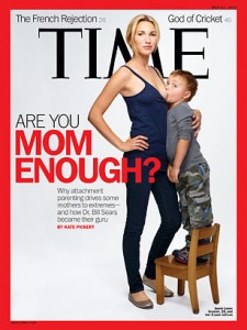 "TIME Magazine Cover ""Are You Mom Enough"""