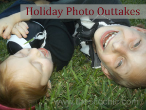 Holiday Photo Outtakes