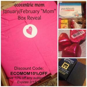 EcoCentric Mom Box Reveal