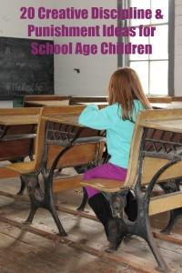20 Creative Discipline & Punishment Ideas for School Age Children