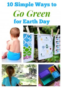 10 Simple Ways to Go Green for Earth Day