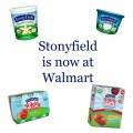 Stonyfield Walmart