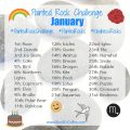 January Painted Rock Challenge