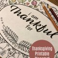 Thanksgiving Placemat Printable